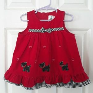 5 for 10, Rare Editions baby dress, 12 months